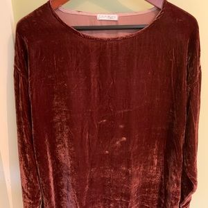 Free People crushed velvet dress. Size small.